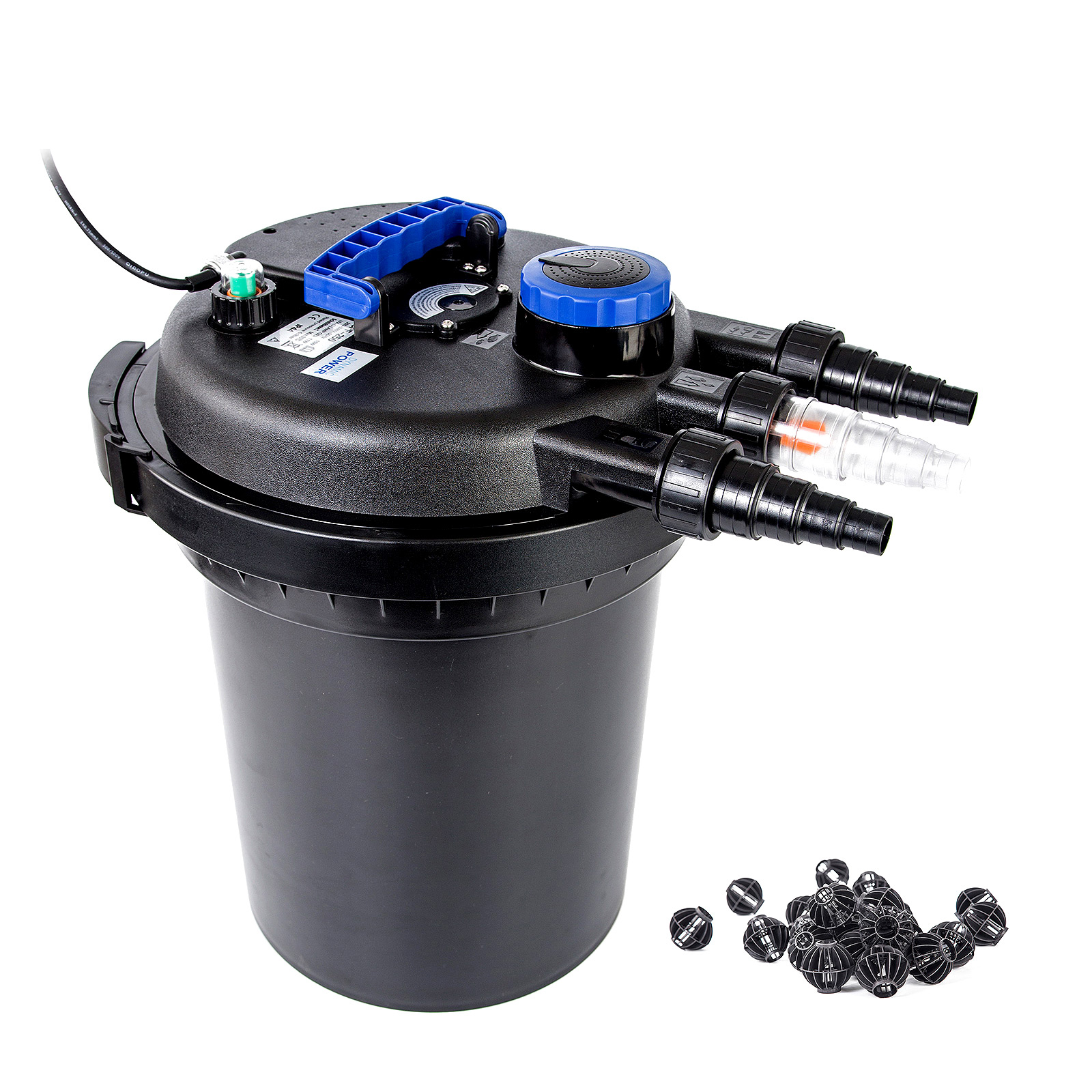 Aquarium external canister filter aqua fish tank pond uv for Fish tank filtration