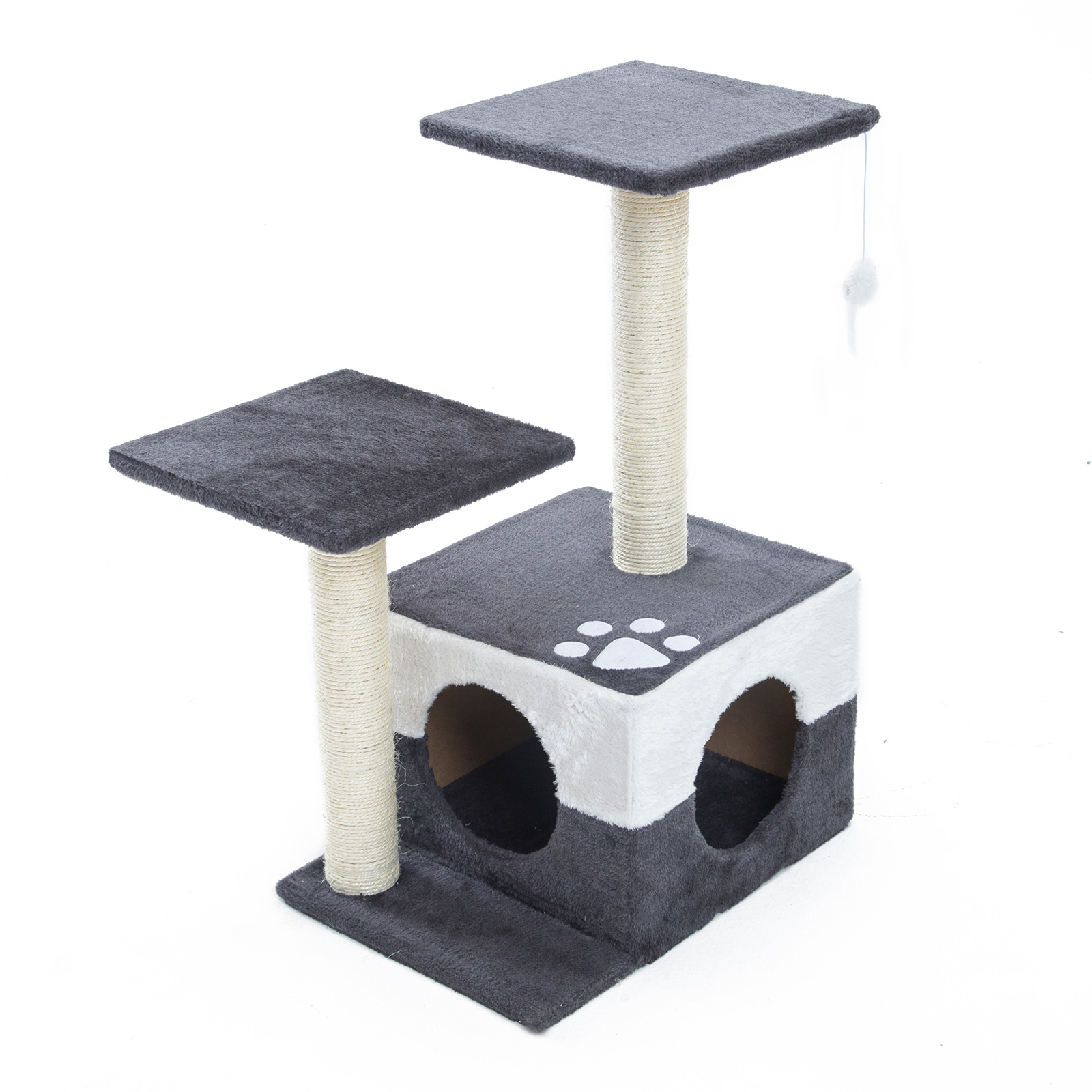 Cat Tree Scratcher MONO 70cm - GREY
