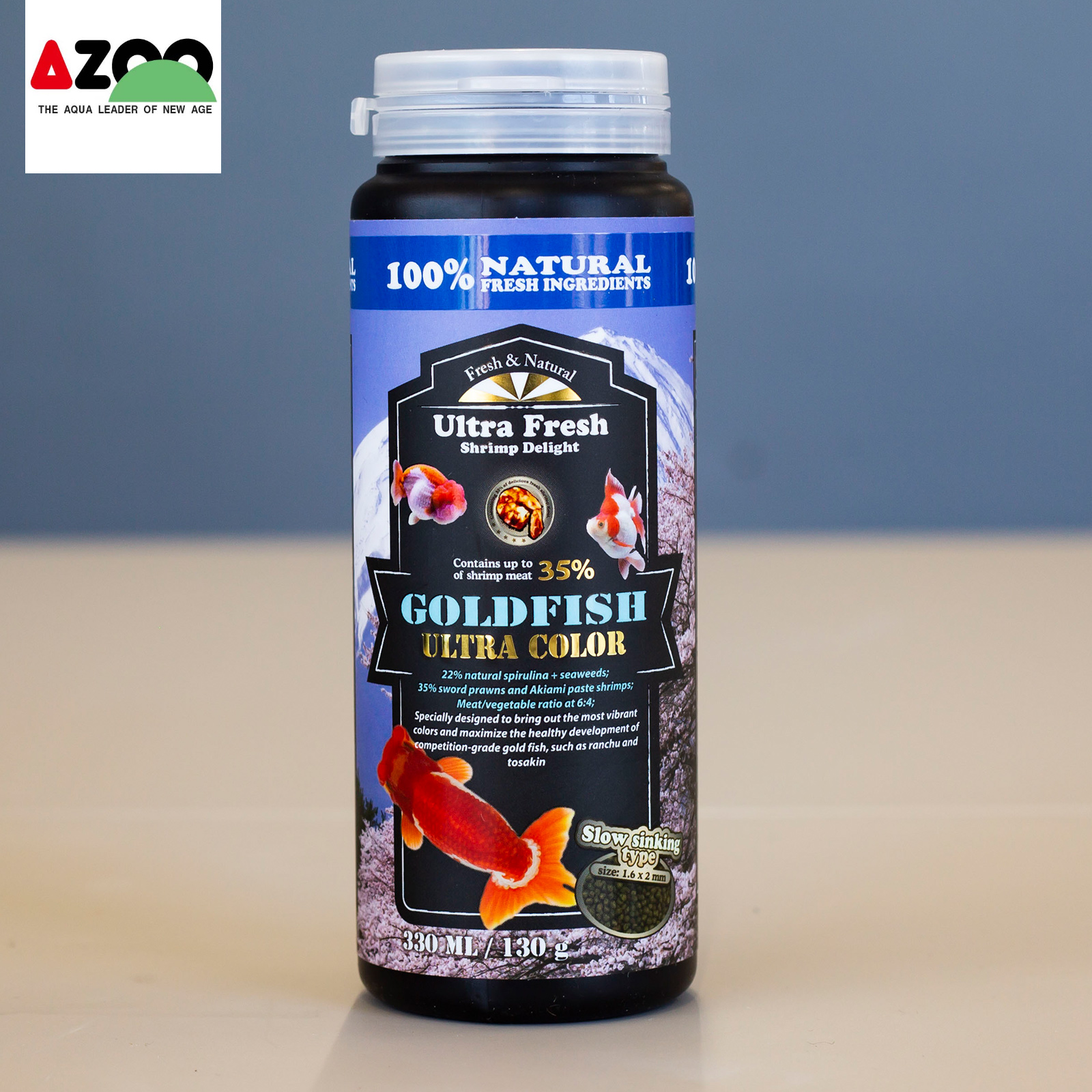 AZOO Goldfish Ultra Color 330ml/130g