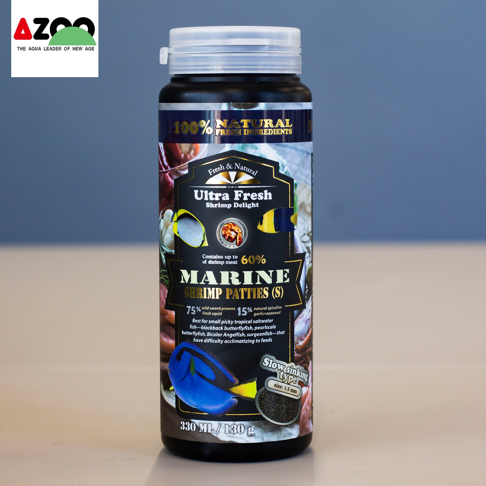 AZOO Marine Shrimp Patties(S) 330ml/130g
