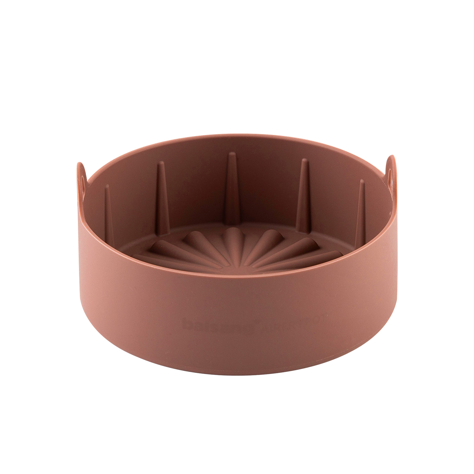 Airfryer Reusable Silicone Pot Large - BROWN