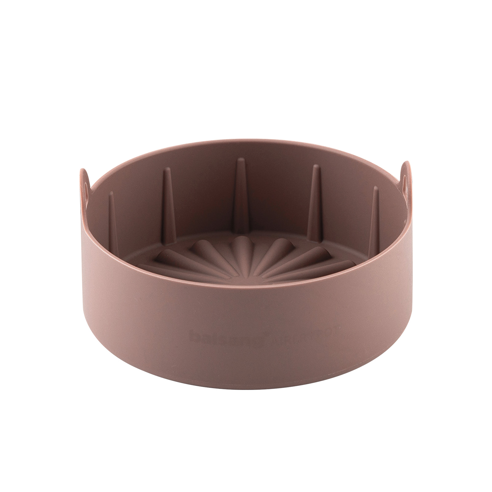 Airfryer Reusable Silicone Pot Large - CHOCOLATE