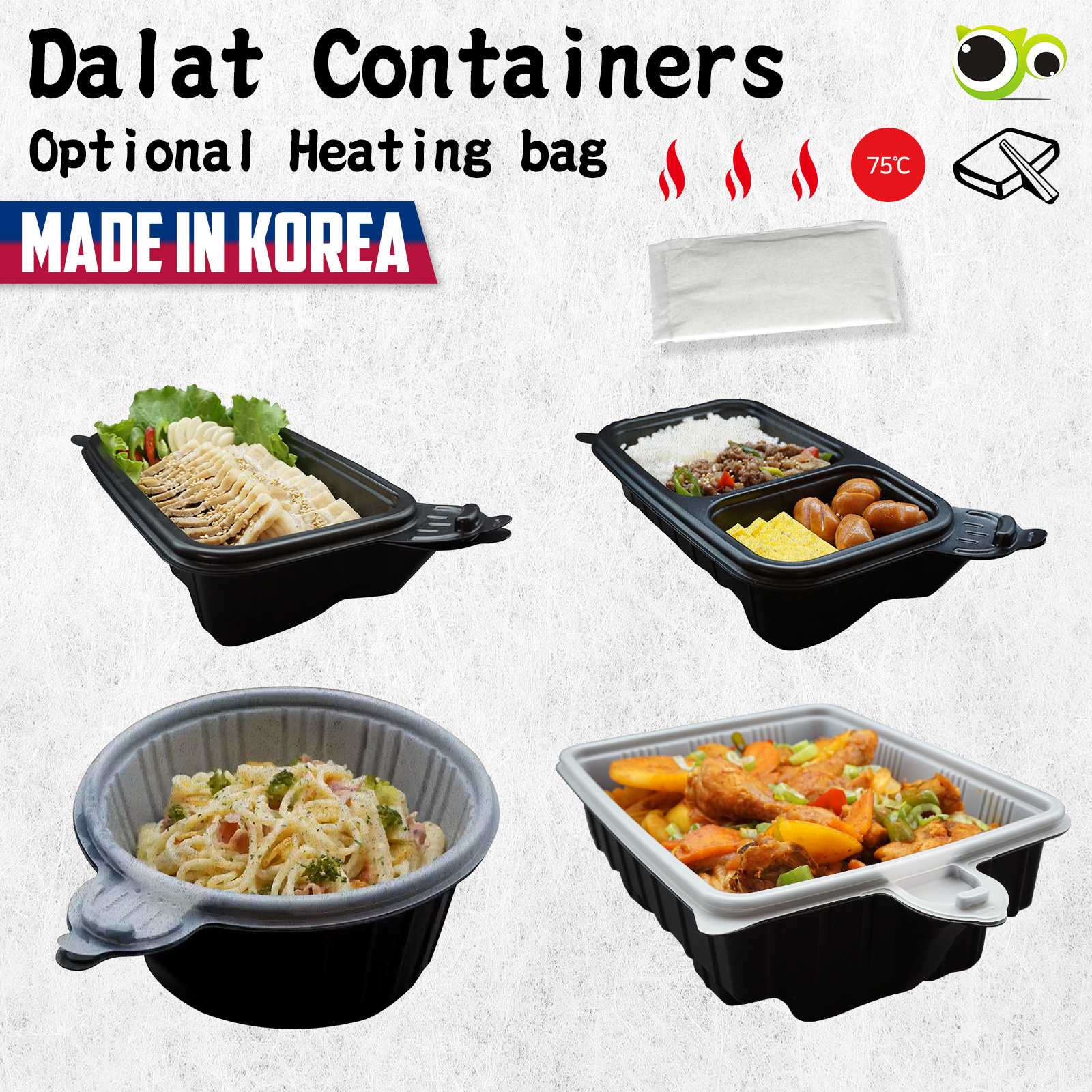Dalat Heating Lunch Box Container VAR