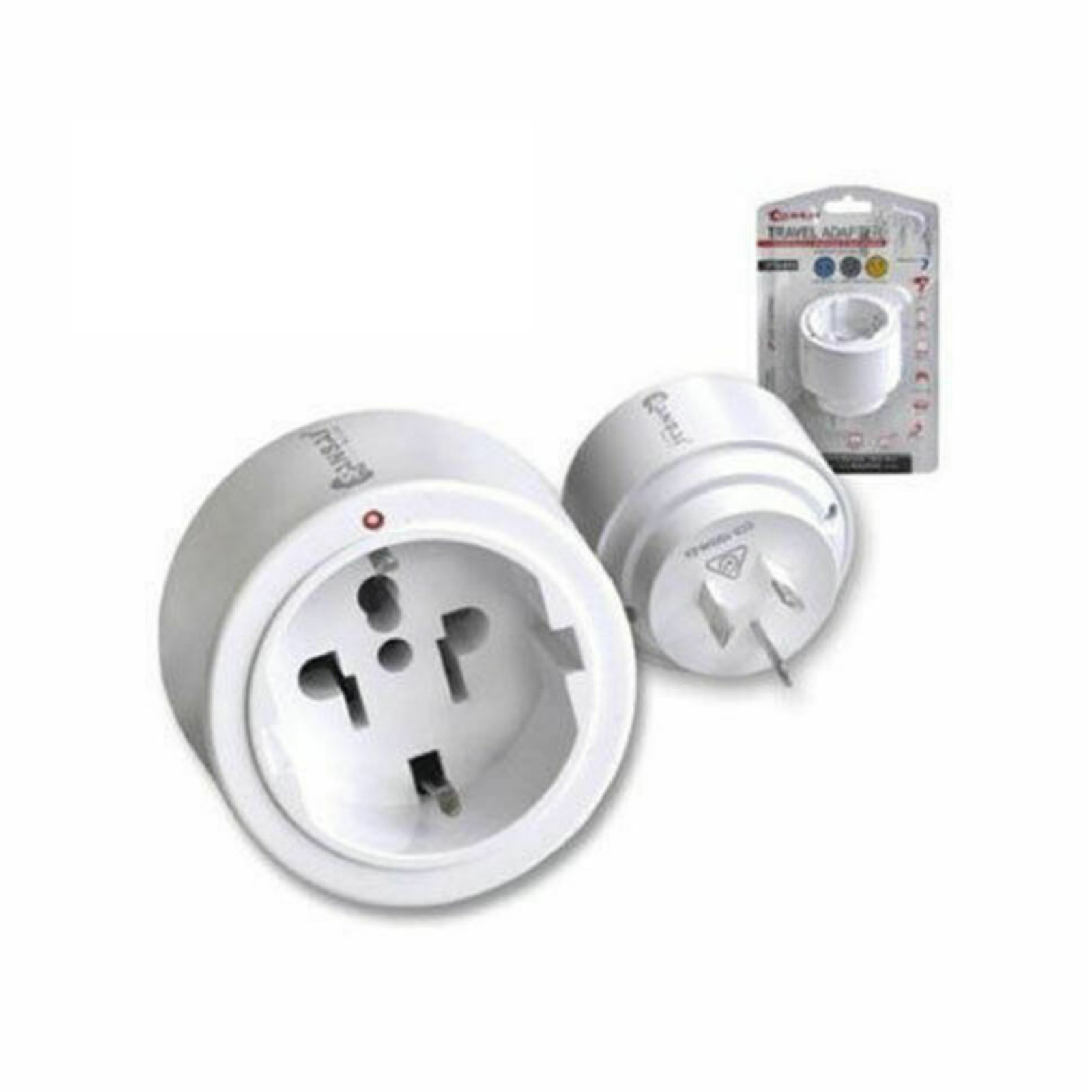 Sansai International Universal (round) Travel Adaptor to AU/NZ