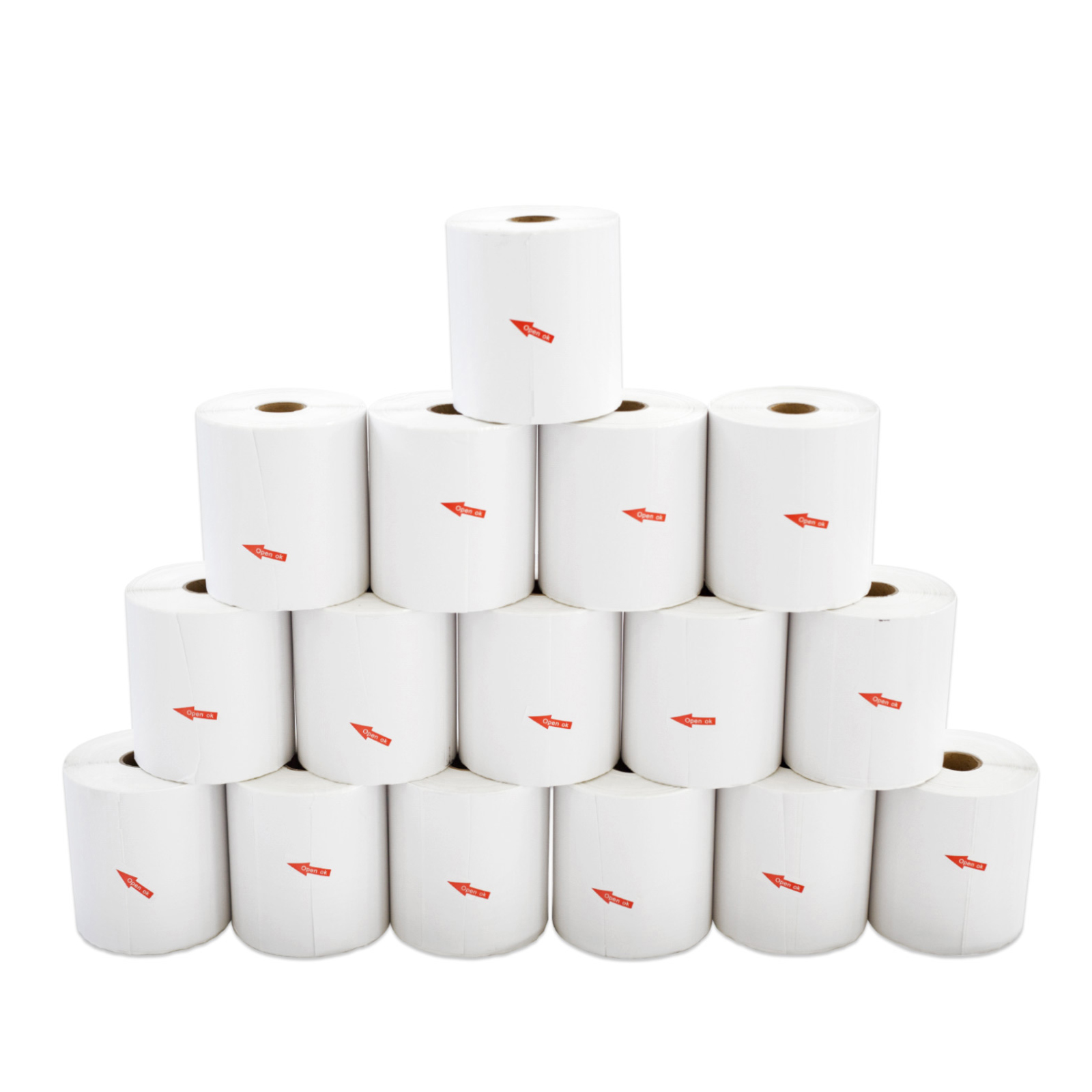 15 Rolls 25mm x 300pcs Thermal Label - Core