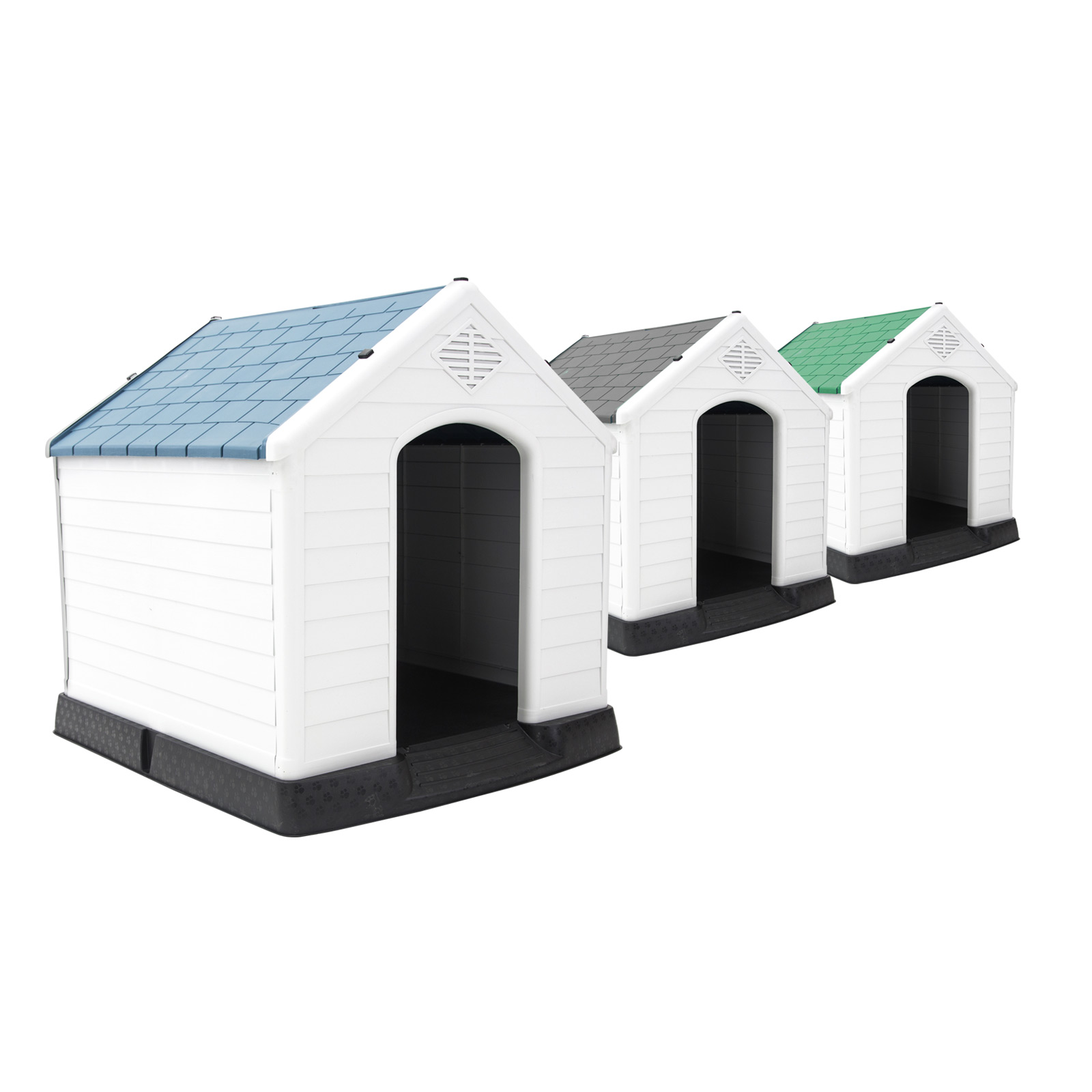 Plastic Dog Kennel COHEN XL - 105 x 97 x 99cm