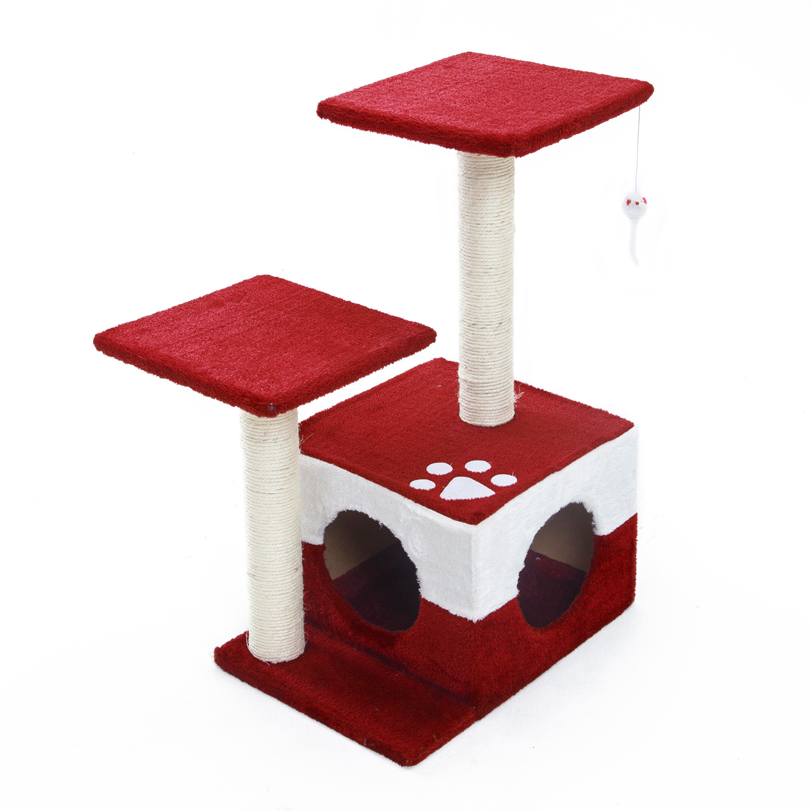 Cat Tree Scratcher MONO 69cm - RED