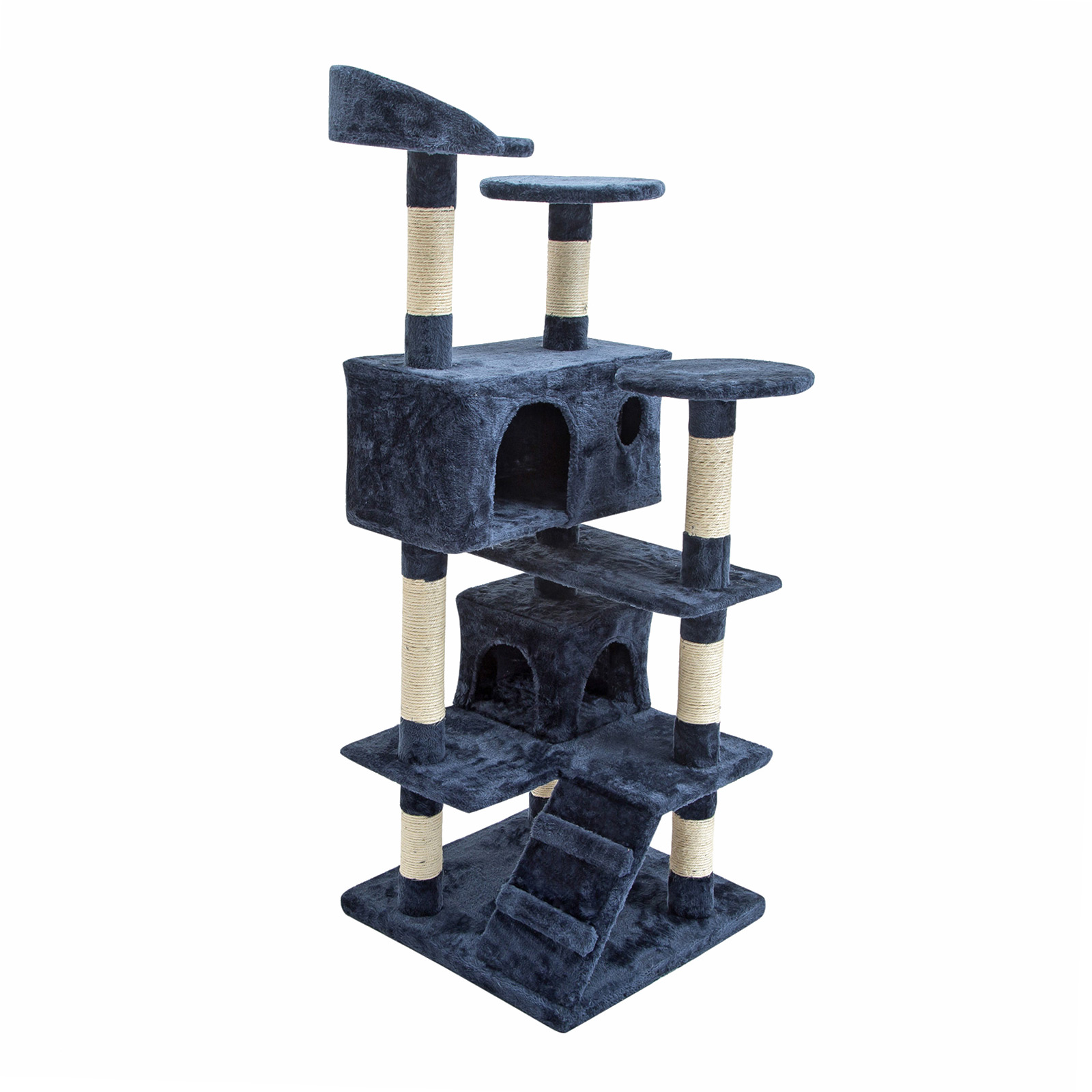 130cm Cat Tree Scratcher SOHO - BLUE