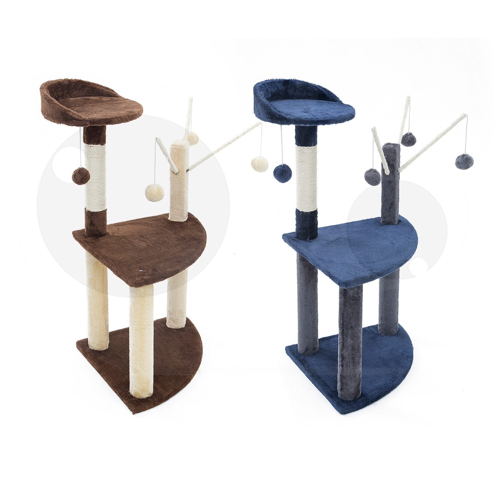 Cat Tree Scratcher LUNA 95cm
