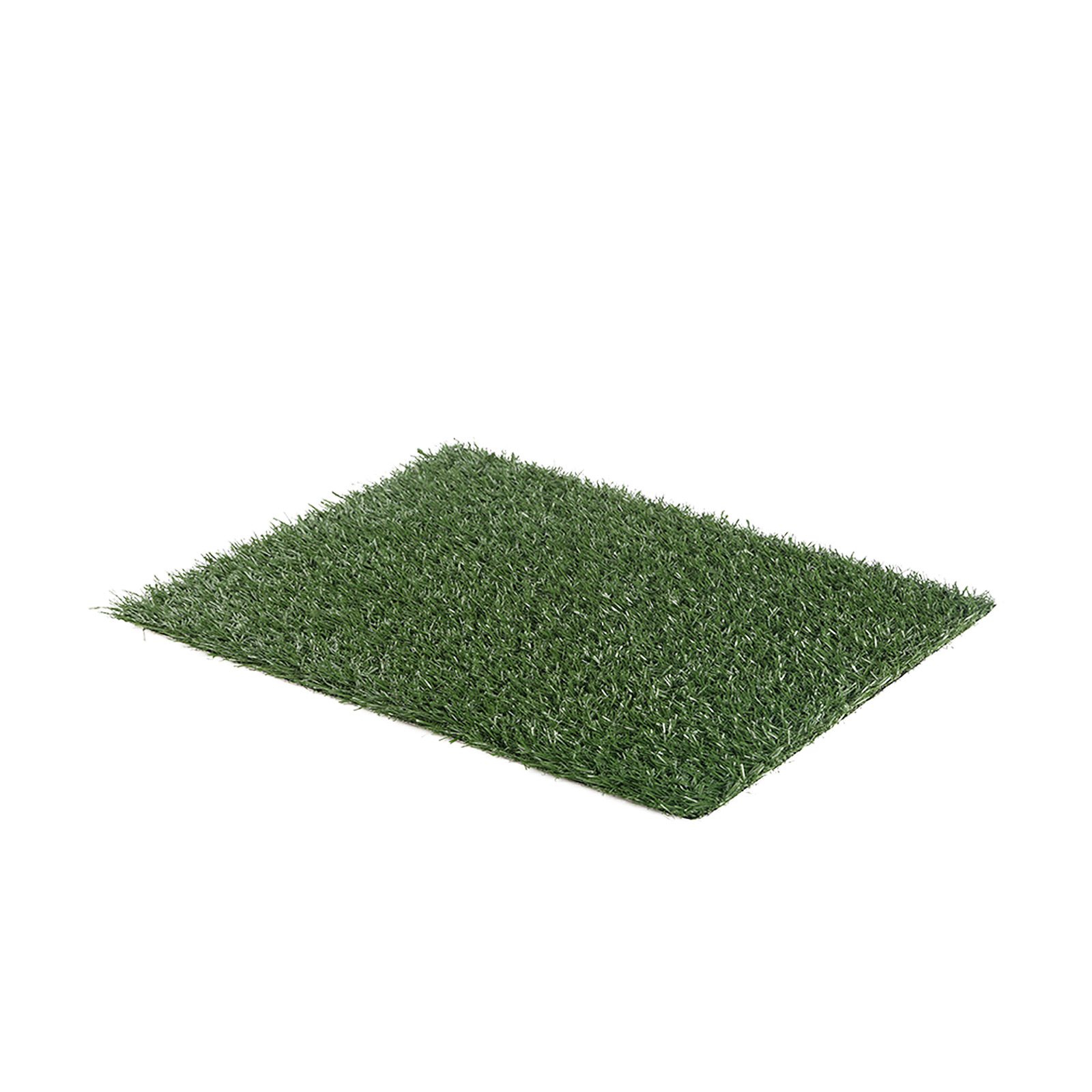 Pet Potty Training Pad Tray L 63 x 50cm - 1 Grass Mat Only