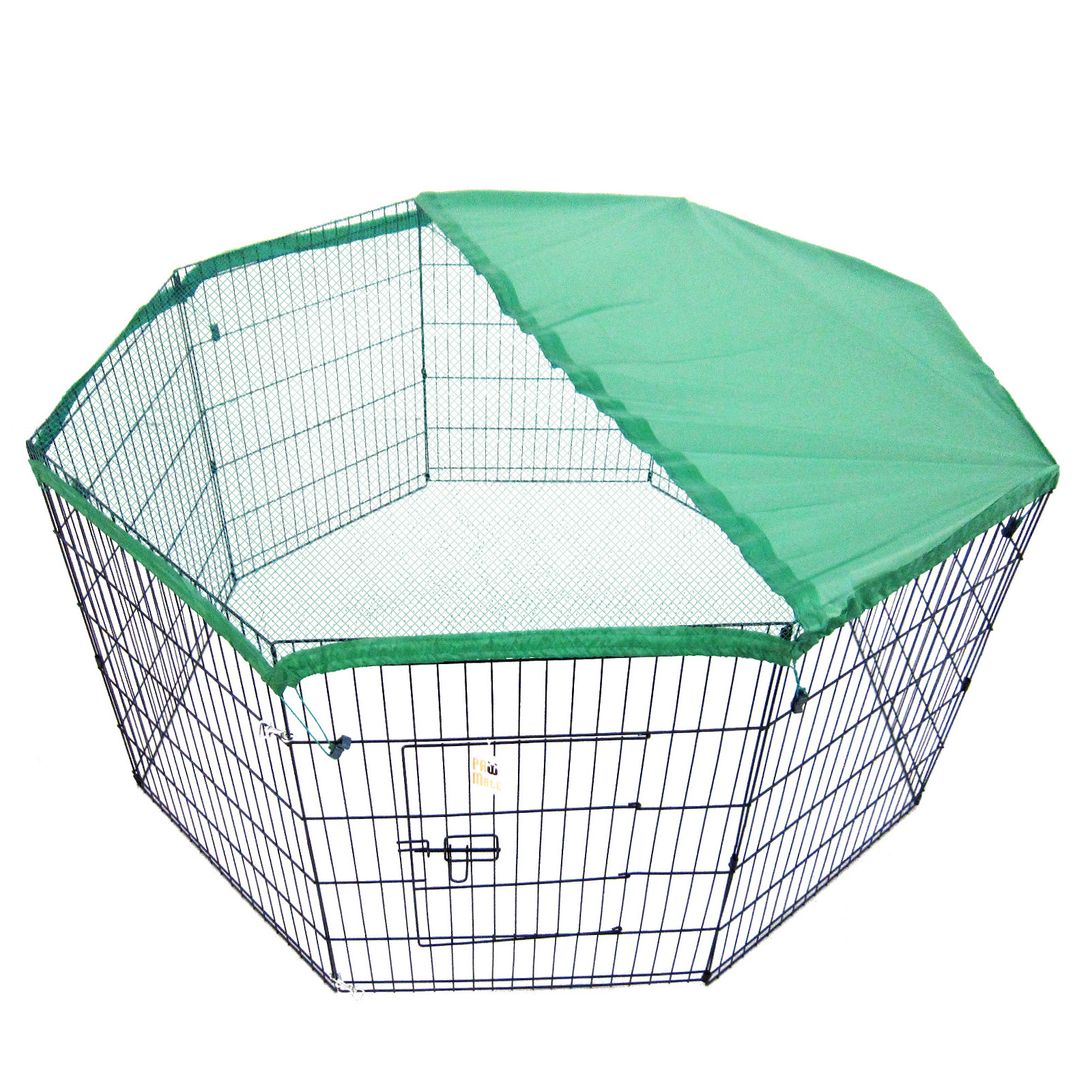 "42"" 8 Panel Foldable Pet Playpen With Cover"